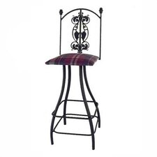 "Grapes 24"" Swivel Bar Stool"