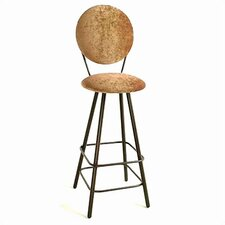 "24"" Circular Back Swivel Stool"