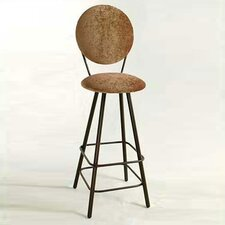 "30"" Circular Back Swivel Stool"