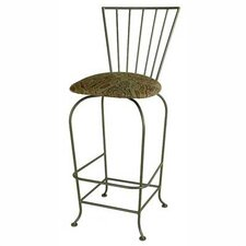 "<strong>Grace Collection</strong> Terra Nova 24"" Bar Stool"