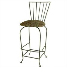 <strong>Grace Collection</strong> Terra Nova Swivel Bar Stool