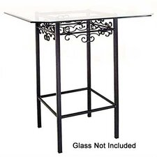 <strong>Grace Collection</strong> Gothic Counter Height Pub Table Base