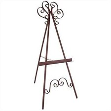 <strong>Grace Collection</strong> Marseilles Wrought Iron Easel