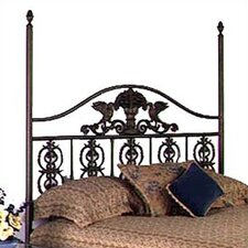 <strong>Grace Collection</strong> Harvest Wrought Iron Headboard