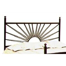 <strong>Grace Collection</strong> El Sol Wrought Iron Headboard