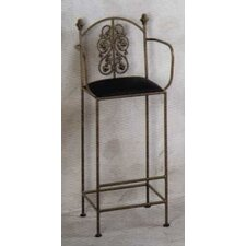Garden Bar Stool with Arms