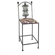 Rose Counter Stool with Arms