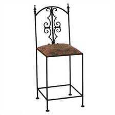 "Gothic 24"" Counter Stool w/ Arms"