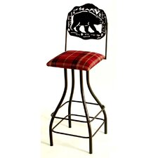 Silhouette Swivel Bar Stool