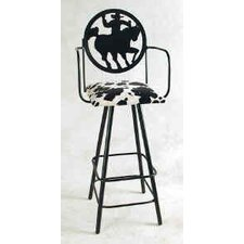 "Silhouette 30"" Swivel Bar Stool"