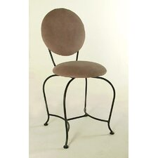 <strong>Grace Collection</strong> Vanity Swivel Stool with Back