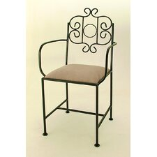 "<strong>Grace Collection</strong> French 18"" Bar Side Chair"