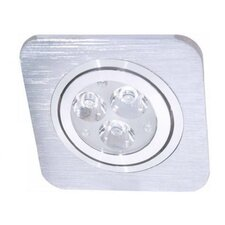 Eco Light LED Einbauleuchte Set 3-flammig 8033D