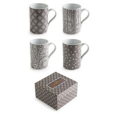 Casablanca 10 oz. Mug (Set of 4)