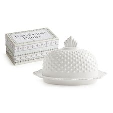<strong>Rosanna</strong> Farmhouse Pantry Hobnail Butter Dish