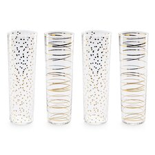 Luxe Modern Champagne Flute (Set of 4)