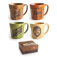 Cafe Belle Epoque 20 oz.Mugs (Set of 4)