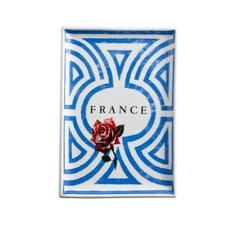 Voyage France Rectangular Serving Tray