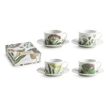 Giardino Cup and Saucer (Set of 4)