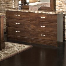 The Zinfandel 6 Drawer Dresser
