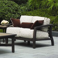 <strong>Suncoast</strong> Madrid Cushion Deep Seating Loveseat