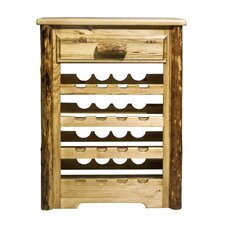 Glacier Country 16 Bottle Wine Rack