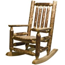 <strong>Montana Woodworks®</strong> Glacier Country Log Child's Rocking Chair