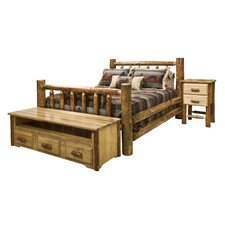 Glacier Country Slat Bedroom Collection