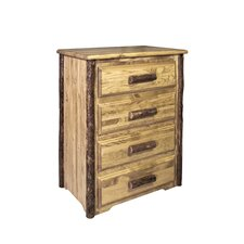 Glacier Country 4 Drawer Chest