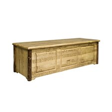 Glacier Country Trunk Blanket Chest