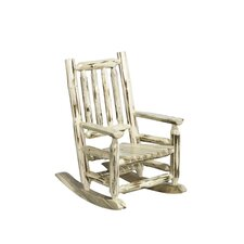 <strong>Montana Woodworks®</strong> Montana Log Child's Rocking Chair