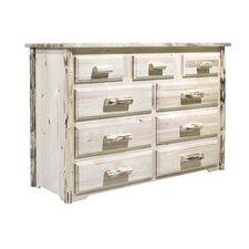 Montana 9 Drawer Dresser