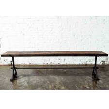 <strong>District Eight Design</strong> V32 Oak and Cast Iron Picnic Bench