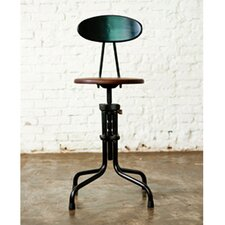 <strong>District Eight Design</strong> V19R Adjustable Bar Stool
