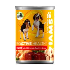 ProActive Health Adult Wet Dog Food with Chicken and Beef in Gravy (12.3-oz,case of 12)