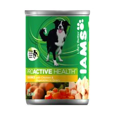 ProActive Health Adult Wet Dog Food with Chicken and Vegetables in Gravy (12.3-oz,case of 12)