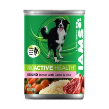 ProActive Health Adult Wet Dog Food with Lamb and Rice (13.2-oz,case of 12)