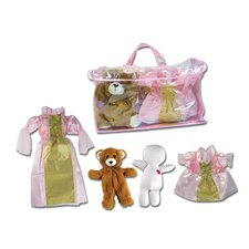 Princess Stuffed Animal Bear Dress Up Set