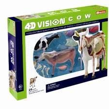 <strong>Tedco Toys</strong> 4D Vision Cow Anatomy Model