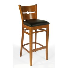 Conback Bar Stool with Cushion