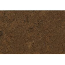 "CorkComfort Comfort 11.63"" Engineered Cork Panel Personality Flooring in Chestnut"