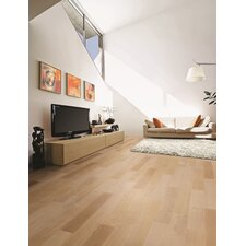 "WoodComfort 5.5"" Engineered with Wood Veneer Flooring in Oak Cappuccino Cork Core"
