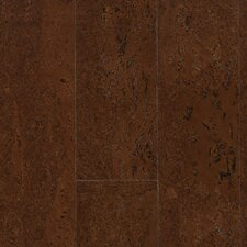 "Corkcomfort 5-1/2"" Engineered Cork Flooring in Flock Brunette"