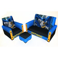 <strong>Harmony Kids</strong> Batman Kid's Sofa Set