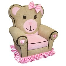 Magical Harmony Ballerina Bear Kid's Club Chair