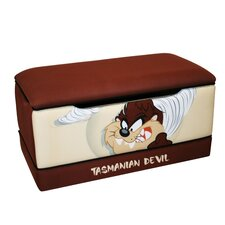 "<strong>Harmony Kids</strong> Warner Brothers ""TAZ"" Tasmanian Devil Toy Box"