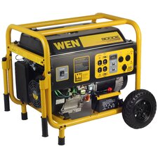 9,000 Watt Gas Generator with Electric Start and Wheel Kit