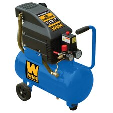 6 Gallon 2 HP Horizontal Tank Air Compressor