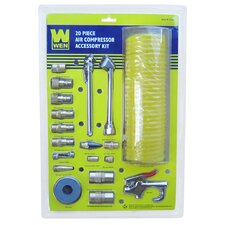 20-Piece Pneumatic Accessory Kit
