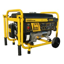 3,500 Watt Portable Generator with Wheel Kit